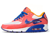 Кроссовки женские Nike Air Max 90 HyperFuse Coral White Blue