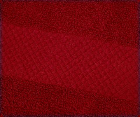 Полотенце 90х180 Mirabello Microcotton красное