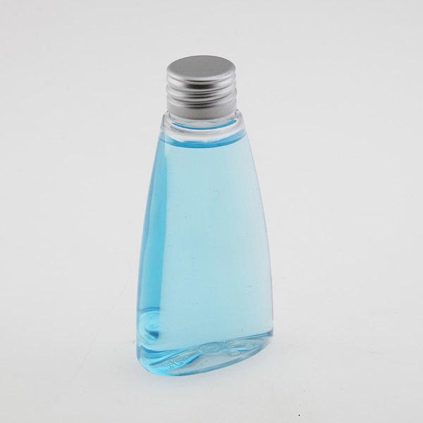 Бутылка плоская треугольная с алюминиевой крышкой