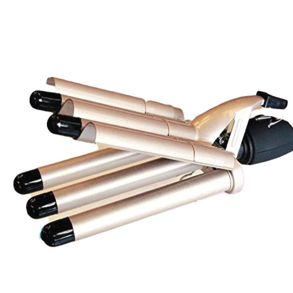 Плойка-щипцы Gemei GM2933 пятиволновая с керамическим покрытием