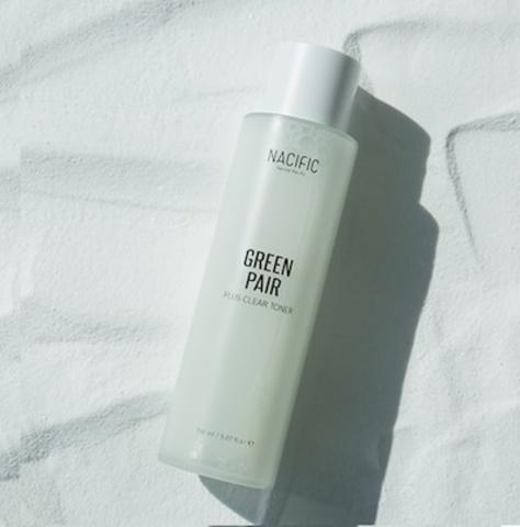Тонер для жирной кожи с центеллой и пудрой, 150 мл / Nacific Greenpair Plus Clear Toner