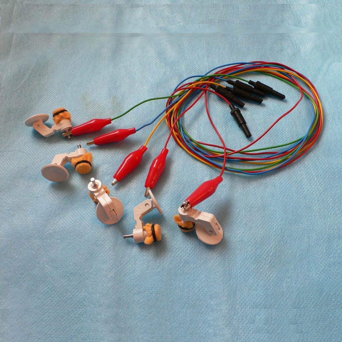 Мостиковый электрод ЭЭГ с кабелем
