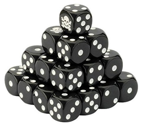 British Dice Set