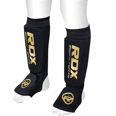 Щитки RDX Hosiery Shin Instep Foam Black/Gold