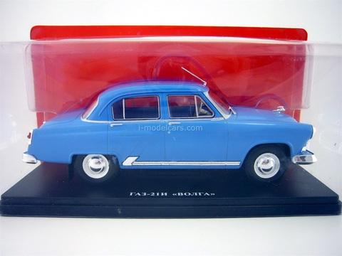 GAZ-21I Volga blue 1:24 Legendary Soviet cars Hachette #1