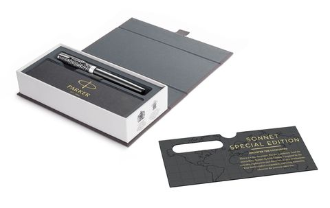 Ручка-роллер Parker Sonnet Special Edition 2018 Metro Black CT123