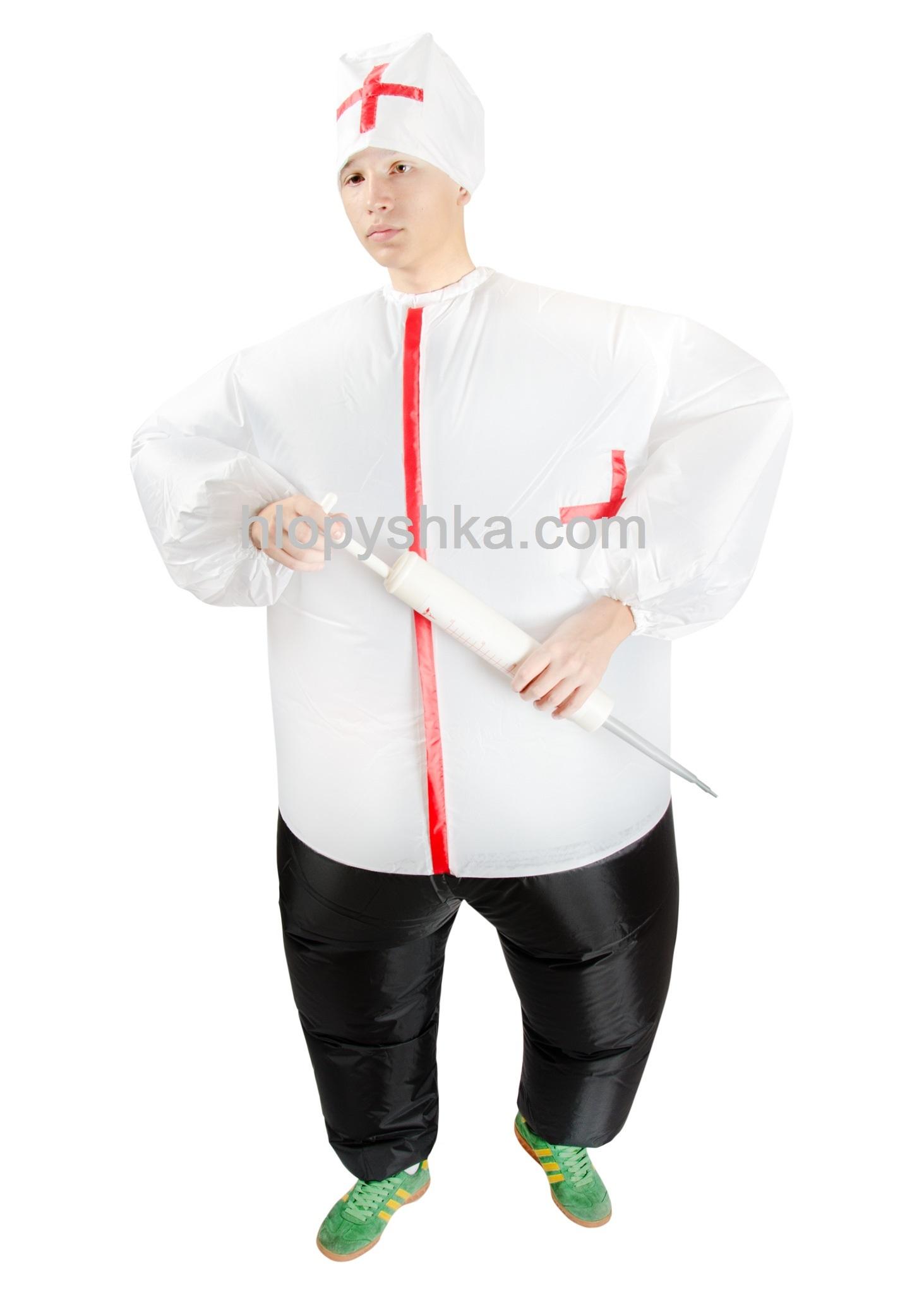 Надувной костюм Медбрат