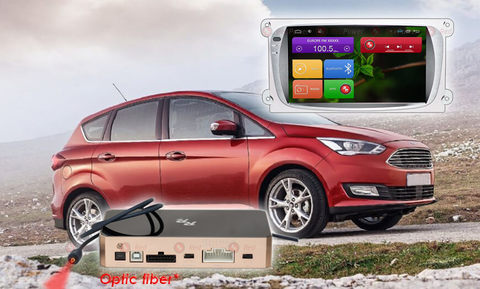 Штатная магнитола для Ford Focus II 07-11 Redpower 31003 IPS (серый)