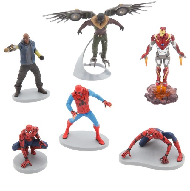 Набор фигурок «Человек Паук: Возвращение домой» Disney 6 фигурок