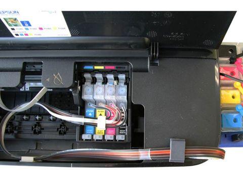СНПЧ Epson S22/SX125. СНПЧ для струйных принтеров Epson Stylus Photo S22 /SX125 /SX230 /SX235W /SX420W /SX425W /SX430W /SX525WD /BX305F /BX625FWD.