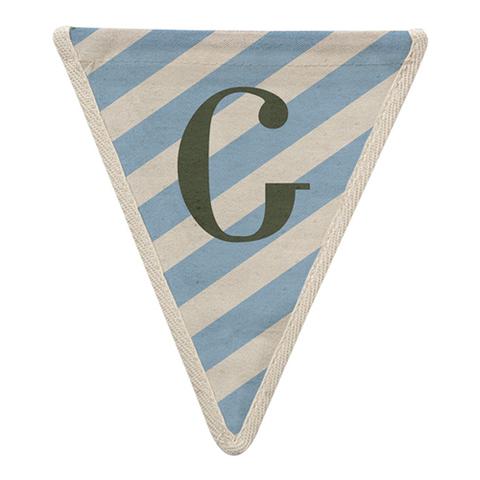 Флажок в голубую полоску по диагонали G