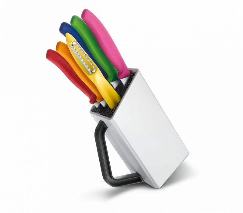Набор ножей Victorinox стальной, ассорти подар.коробка