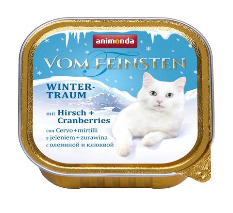 Консервы Animonda Vom Feinsten с олениной и клюквой для взрослых кошек