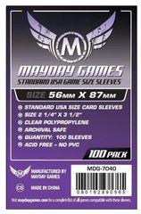 Протекторы для настольных игр Mayday Standard USA Game Size (56x87) - 100 штук