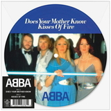 ABBA / Does Your Mother Know + Kisses Of Fire (Picture Disc)(7' Vinyl Single)