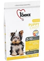 Корм для щенков миниатюрных и мелких пород, 1st Choice Puppy, с курицей