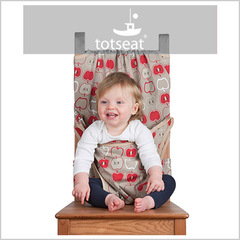Totseat (Тотсит) дорожный стульчик для кормления яблочко