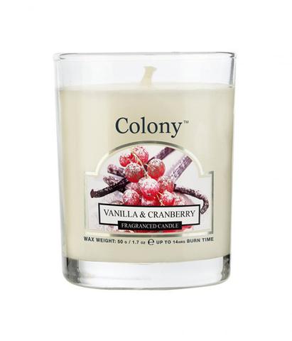 Свеча ароматическая лампадная Клюква в сахаре, Wax Lyrical