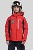 Горнолыжная куртка для детей 8848 Altitude Epsilon красная с непродуваемой мембраной до -30С