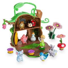 Игровой Набор Мини Домик Феи Динь-Динь с Аксессуарами - Tink Micro PlaySet, Disney Animators' Collection