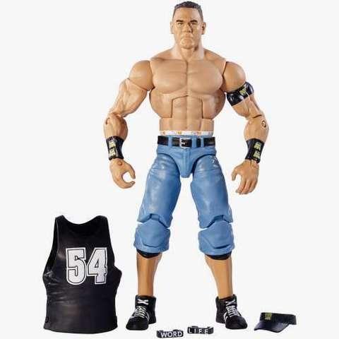 Джон Сина (John Cena) Defining Moments - рестлер Wrestling WWE, Mattel