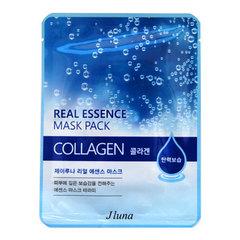 Juno Collagen Real Essence Mask - Маска тканевая с коллагеном