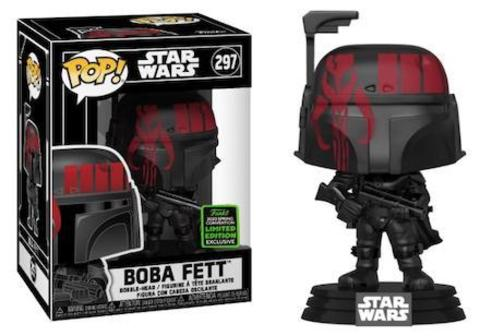 Фигурка Funko POP! Bobble: ECCC: Star Wars: w/case Boba Fett (Futura) (Exc) 45921