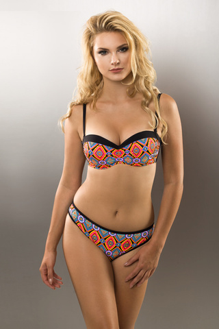 Купальник Solena Black-Colorful Verano