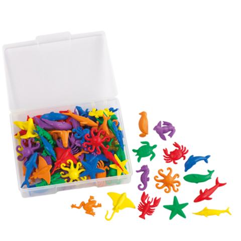 Счетный материал фигурки Морские животные, Edx education