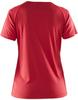 Женская спортивная футболка для бега Craft Prime Run 1903176-1440 красная