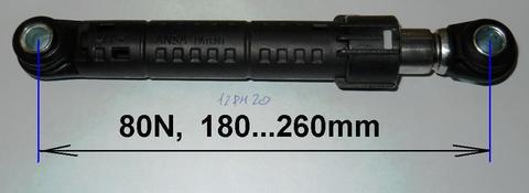 Амортизатор для стиральной машины Samsung/Indesit/Ariston 80N - DC66-00421A/030340, см. DC66-00421A ПРОМО