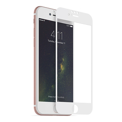 Защитное 3D-стекло для iPhone 7 White - Белое