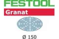 Шлифовальная бумага FESTOOL Granat  STF D150/48 P280 GR/100