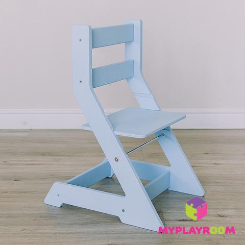 Растущий стульчик, голубой