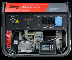 Бензиновая электростанция с электростартером и коннектором автоматики FUBAG  BS 6600 A ES