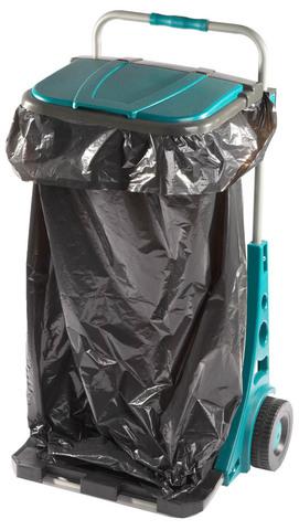 Тележка садовая RACO, в комплекте с мешком на 120 л
