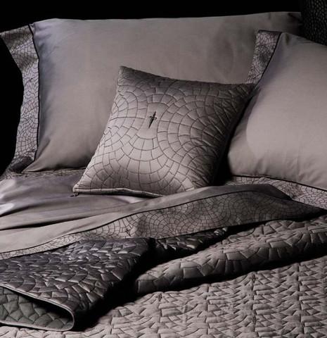 Постельное белье 2 спальное Cesare Paciotti Pave голубое