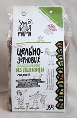 Макароны из пшеницы, Умная Мама, цельнозерновые, Перья, 350 г.