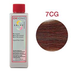 CHI Ionic Shine Shades Liquid Color 7CG  (Темно-медный золотой блонд) - Жидкая краска для волос