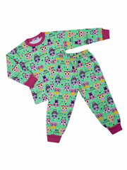 BK921PJ-4 пижама для девочек, зеленая