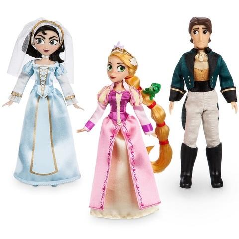 Дисней Рапунцель набор из 3 мини кукол 12 см