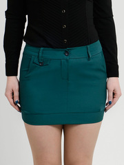 2111-2 юбка зеленая