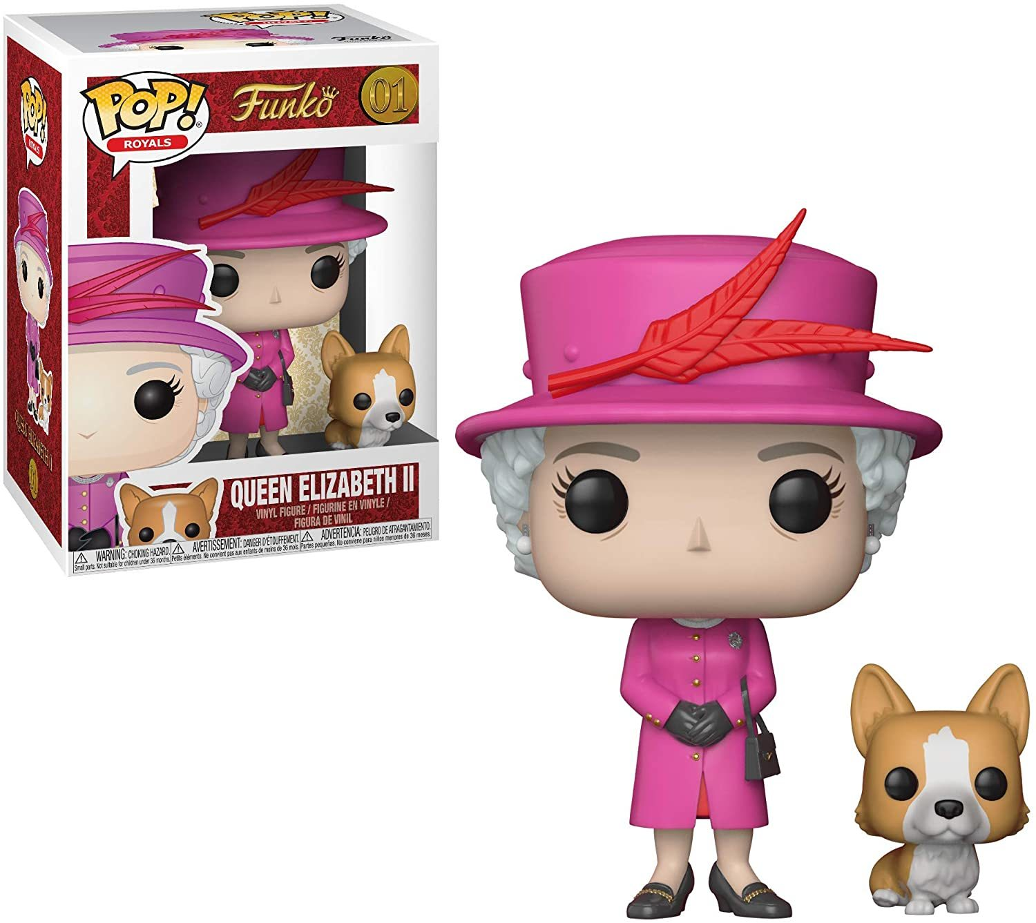 Фигурка Funko POP!: Royal Family - Queen Elizabeth II