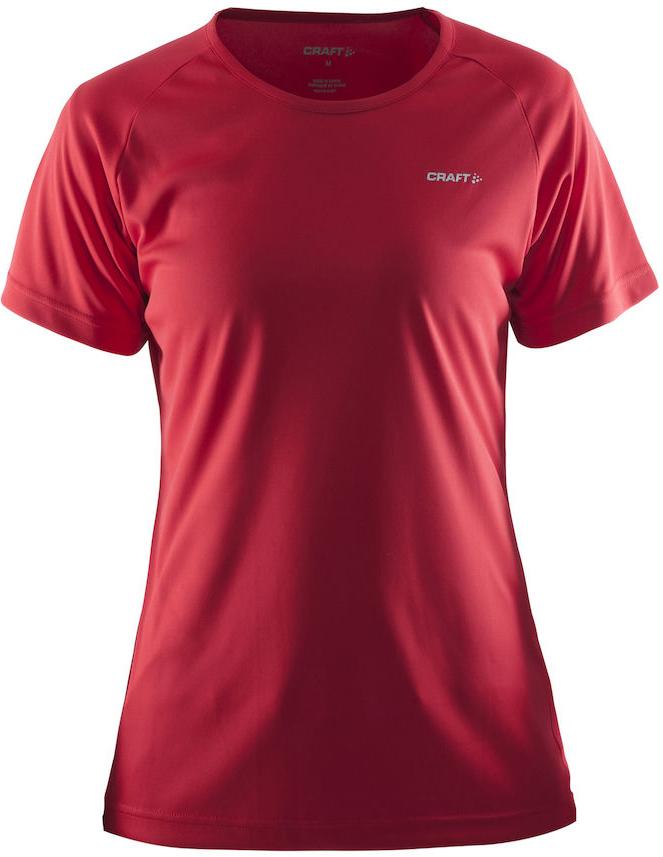 Женская спортивная беговая футболка Craft Prime Run 1903176-1440 красная