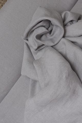 Ткань лаванда-меланж, смягченная