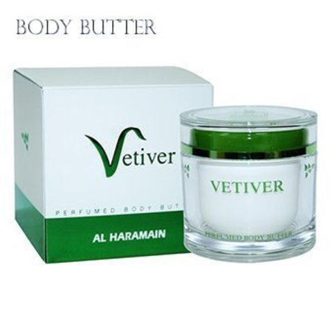 Vetiver Butter