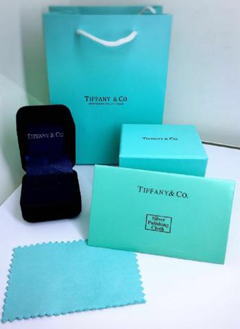 Комплект подарочной упаковки под кольцо/пусеты TIFFANY