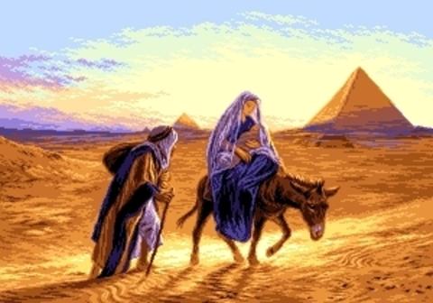 G-865 Familia Sfanta in Egipt (Святое Семейство в Египте)