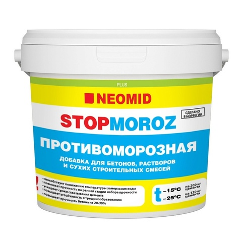 Neomid Stopmoroz противоморозная добавка