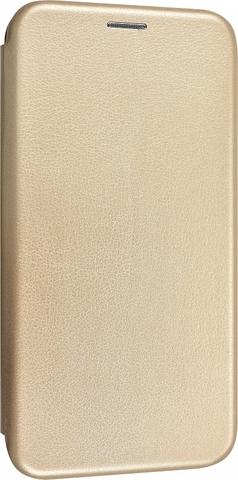 Чехол-книжка Fashion Case для samsung galaxy a10 золотая